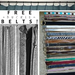 FREE Buckle Belt (with purchase)